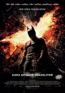 Kara Şövalye Yükseliyor ( The Dark Knight Rises ) film posteri