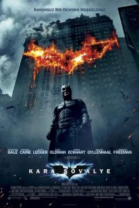 Kara Şövalye ( The Dark Knight ) film posteri