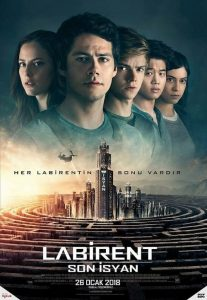 Labirent: Son İsyan ( Maze Runner: The Death Cure ) film posteri