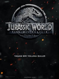 Jurassic World: Yıkılmış Krallık ( Jurassic World: Fallen Kingdom ) film posteri