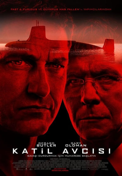Katil Avcısı ( Hunter Killer ) film posteri