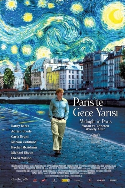 Paris'te Gece Yarısı ( Midnight in Paris ) film posteri