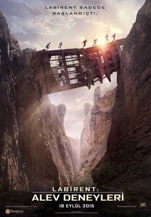 Labirent: Alev Deneyleri ( Maze Runner: The Scorch Trials ) film posteri